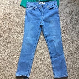 Nordstrom Jeans - Nordstrom Trademark mid rise jeans straight leg 29